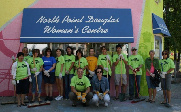 North Point Douglas Women's Centre Day of Caring