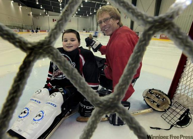 Spencer Lambert (left), with Bill Muloin, now has Olympic-sized ambitions.