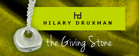 Hilary Druxman's Giving Stone.