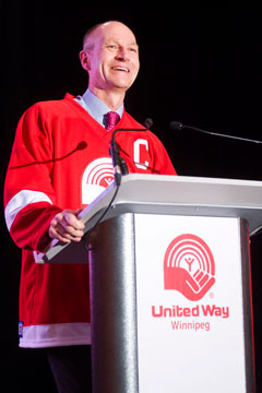 2011 United Way Campaign Chair Edward Kennedy.