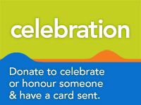Donate to celebrate or honour someone