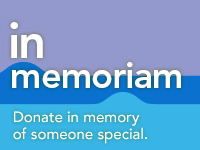 "Make an ""In Memoriam"" donation"