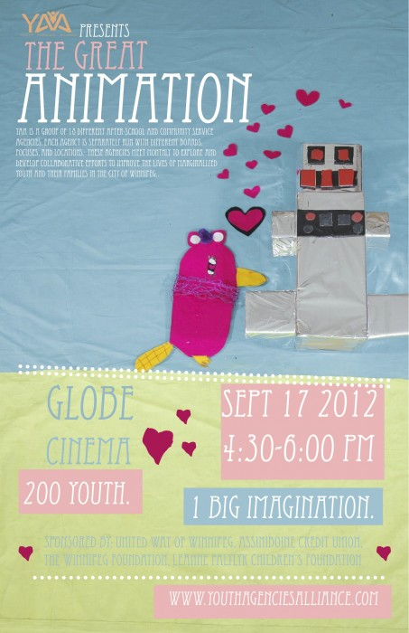 Youth Agencies Alliance Art Show Poster