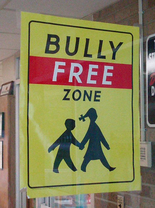 Bully-free zone sign