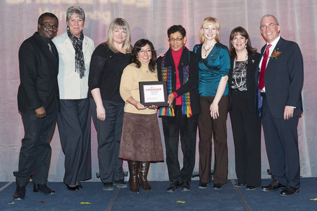 University of Manitoba - United Way Winnipeg Spirit Awards - Workplace Canvasser Awards winners