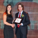 Marie-Pier Berman received an ECC award for her work on Nav Canada's campaign