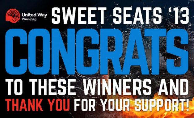 Congratulations, Sweet Seats winners!