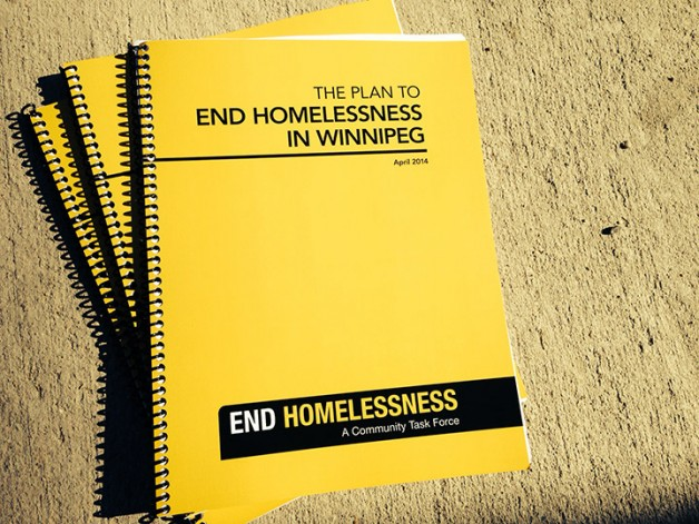 Plan to end homelessness in Winnipeg.