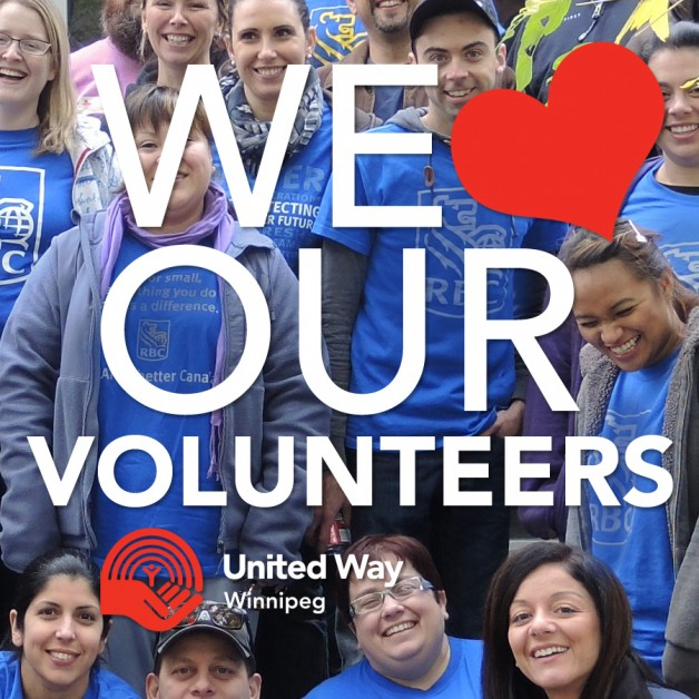 United Way LOVES our volunteers!