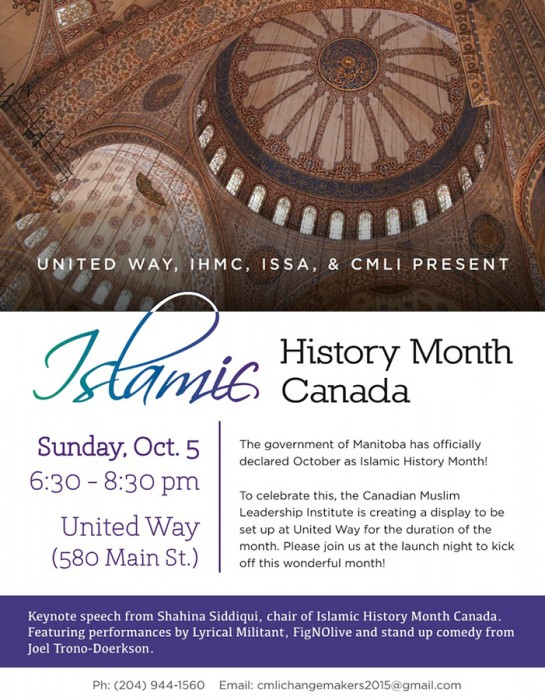 Islamic History Month launches at United Way.