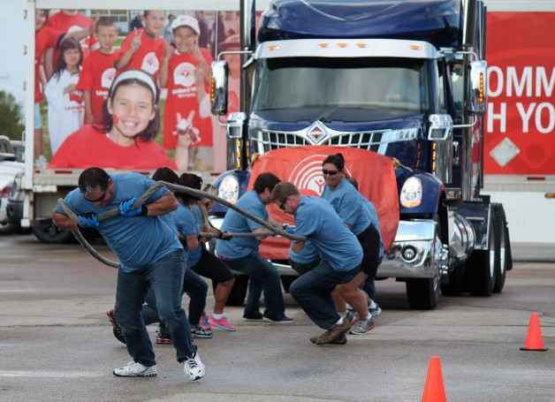 MTA Truck Pull for United Way.
