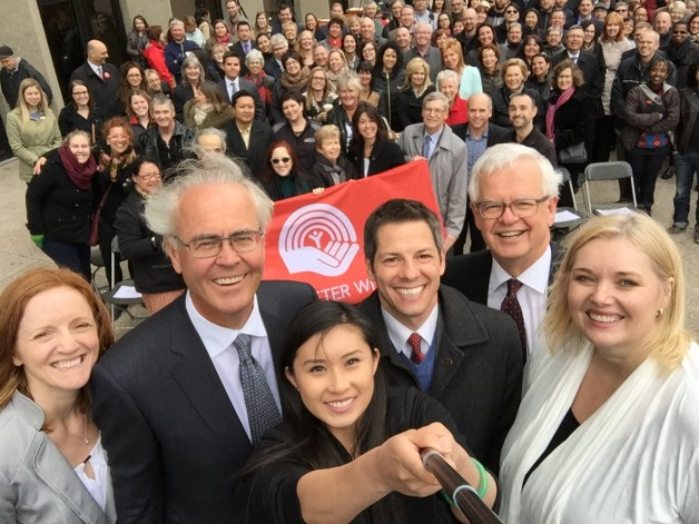 Winnipeg's Biggest Selfie, full of Winnipeg's biggest supporters.