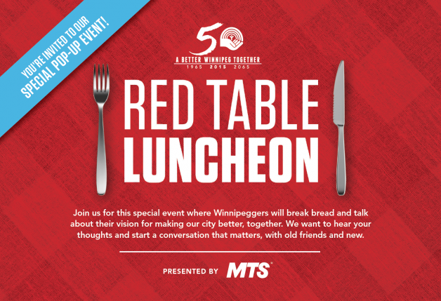 Red Table Luncheon