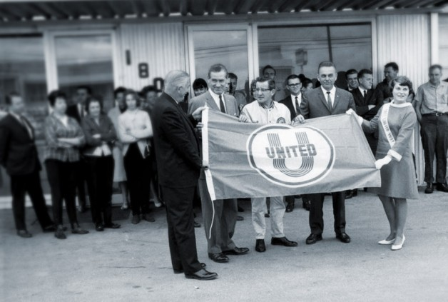 United Way's founding, 50 years ago.