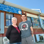 Dilly and her son, Dion. Kindness from a stranger saved Dion from a life of crime and addiction.
