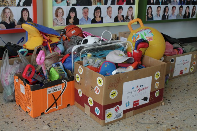 Donations for National Leasing  Giving Kids a Summer drive