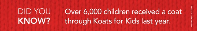 Koats for Kids did you know?