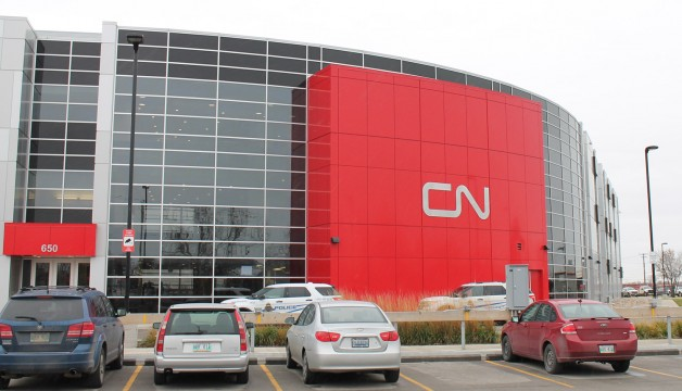 CN hosted at the gleaming CN Campus on Pandora.