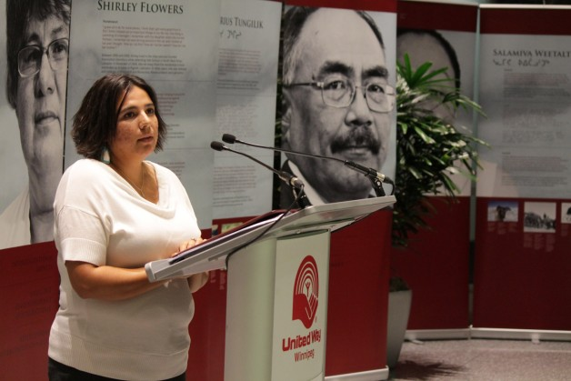 Angie Hutchinson, Chair of United Way's Aboriginal Relations Council.