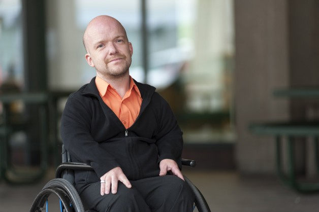 After being left paralyzed by complications following back surgery, Kevin Black's outlook was revitalized and revived by a United Way-supported Canadian Paraplegic Association counsellor.