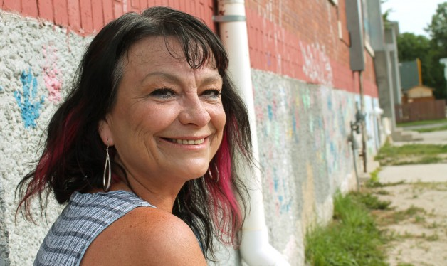 Dawn found a sense of safety, home and family at Andrews Street after leaving an abusive situation.