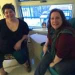 Lyndsay Ladobruk (left) in her new home with outreach worker Laurel Cassels. JESSICA BOTELHO-URBANSKI / WINNIPEG FREE PRESS