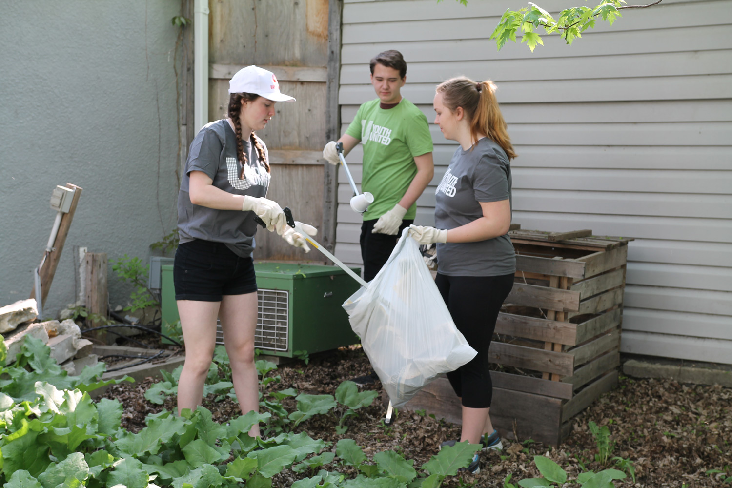 Cleaning up around the North End Women's Centre