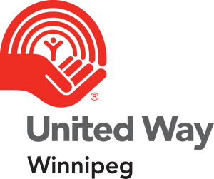Colour United Way Winnipeg logo, vertically stacked.