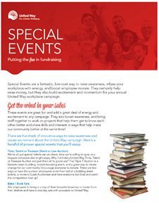 Special Events: Putting the Fun in Fundraising