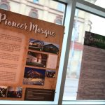 The 8-panel exhibit being shown in United Way's atrium features the history and contributions of Muslims in Manitoba.
