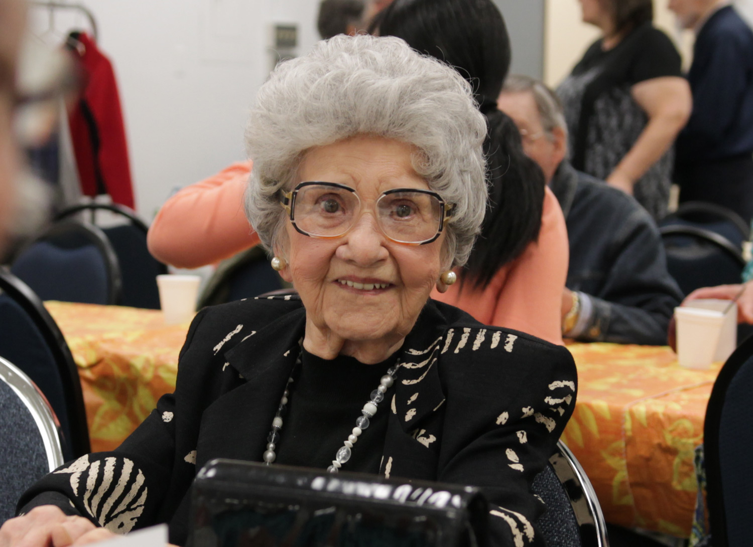 Frances Kusner, who turned 100 last April, volunteered with CVITP for 41 years. She retired this year. Thank you, Frances! - United Way Winnipeg