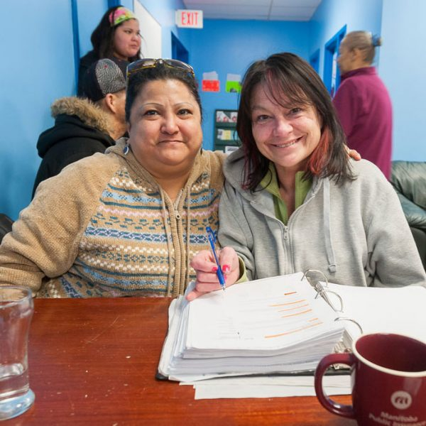 Family resource centres help people find a place in their community while offering services like job banks, food and clothing closets, and counselling.