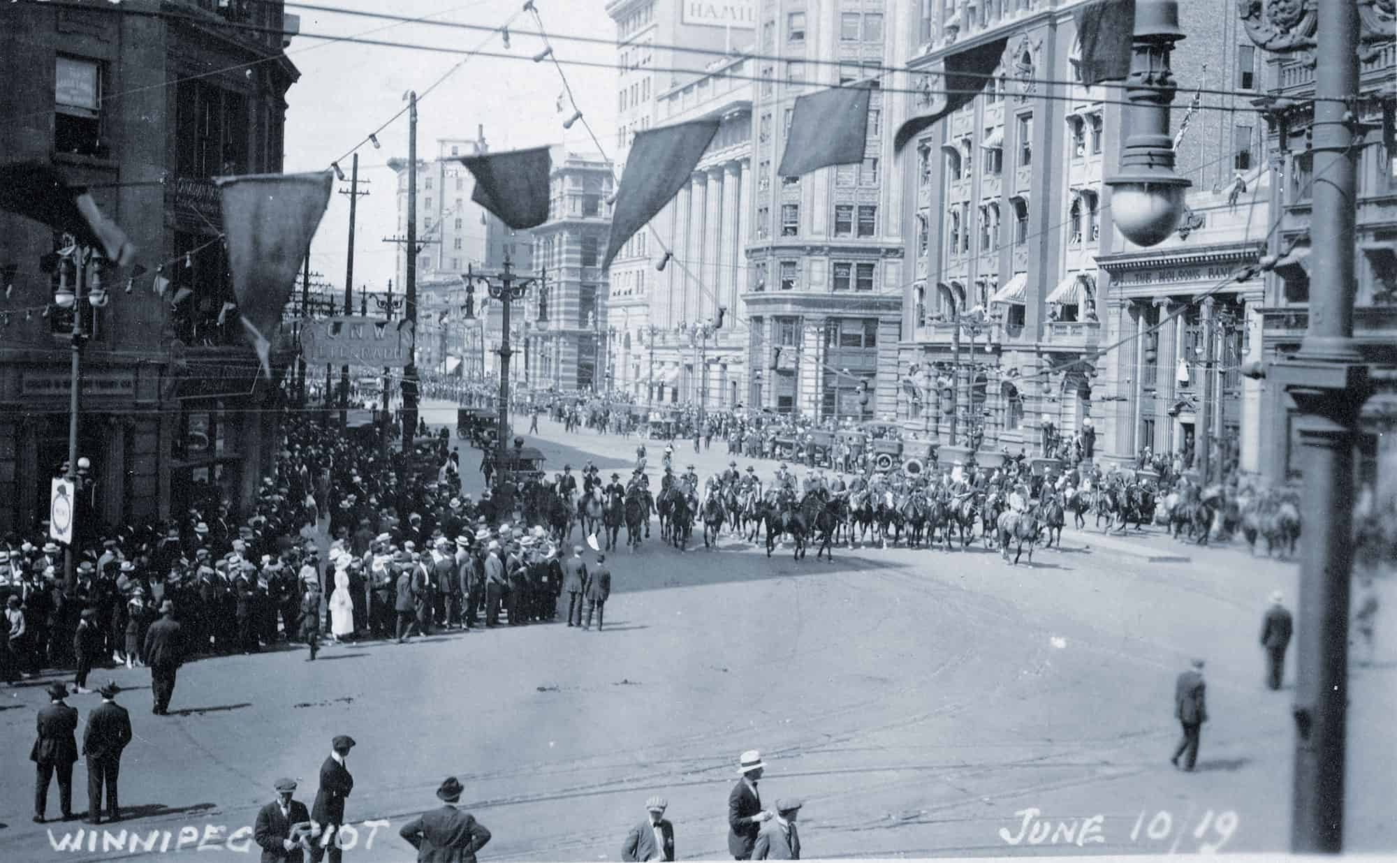 Winnipeg General Strike, June 10, 1919.