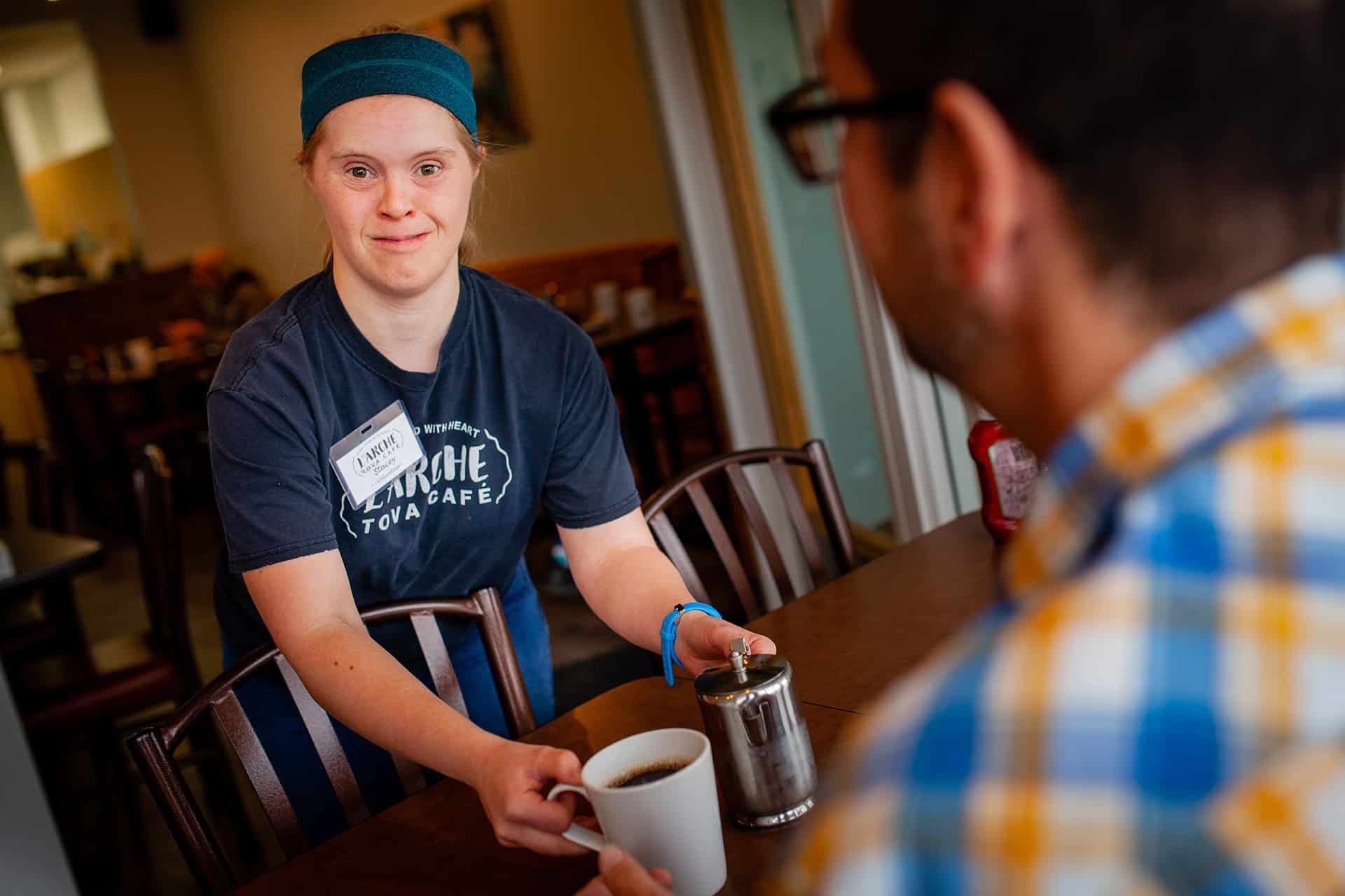 Stacey found community and purpose at L'Arche Tova Cafe - United Way Winnipeg