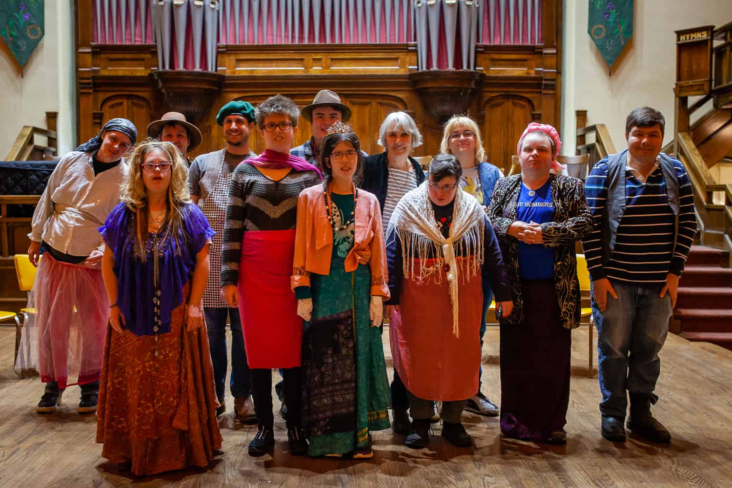 Theatre program promotes inclusion for people with disabiliites