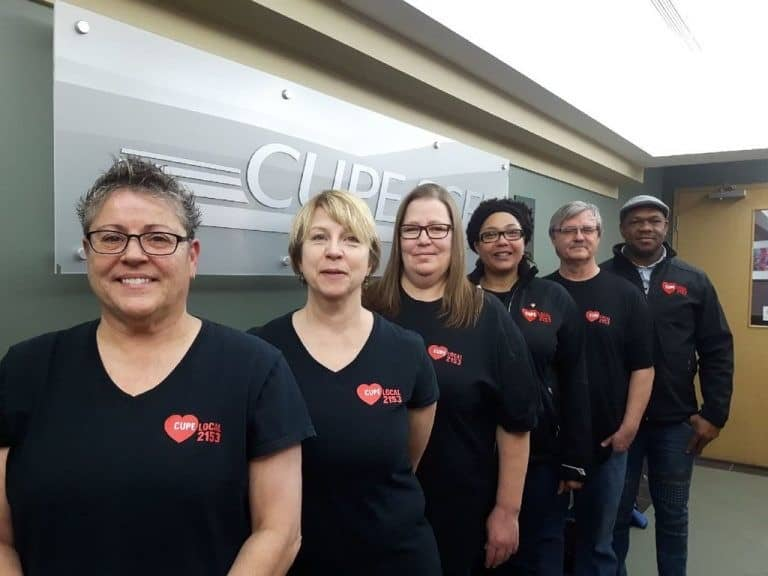 CUPE Local 2153 keeps the spirit of generosity alive - United Way Winnipeg
