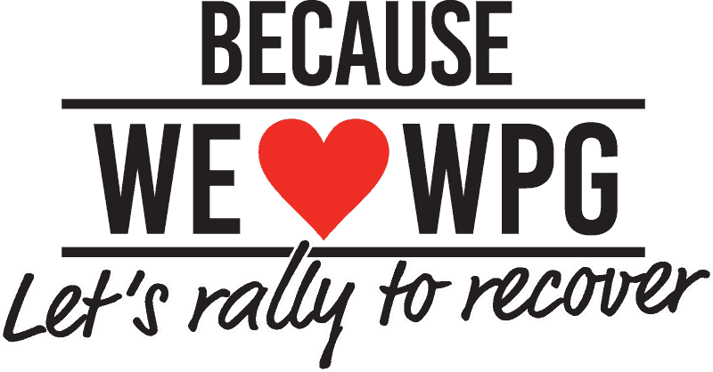 Because we love Winnipeg, let's rally to recover.